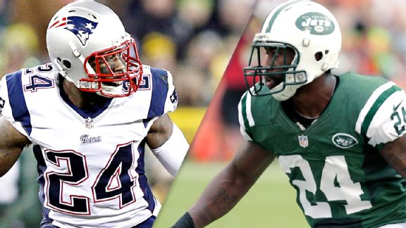 Darrelle Revis, new England Patriots, New York Jets