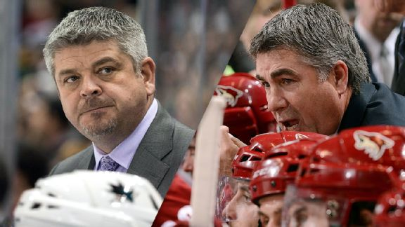 Todd McLellan and Dave Tippett