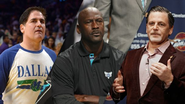 Mark Cuban, Michael Jordan, and Dan Gilbert