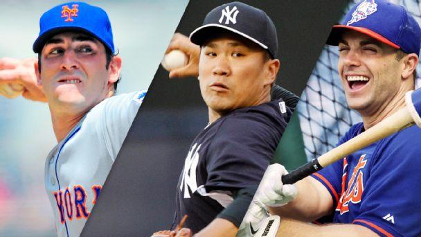 Matt Harvey, Masahiro Tanaka, David Wright