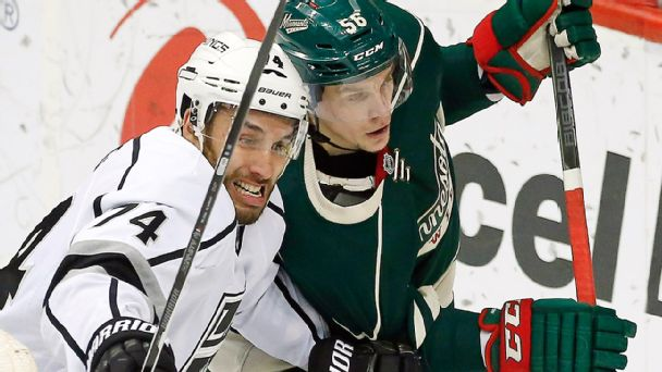 Dwight King, Erik Haula