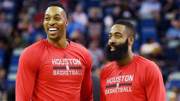 Dwight Howard, James Harden