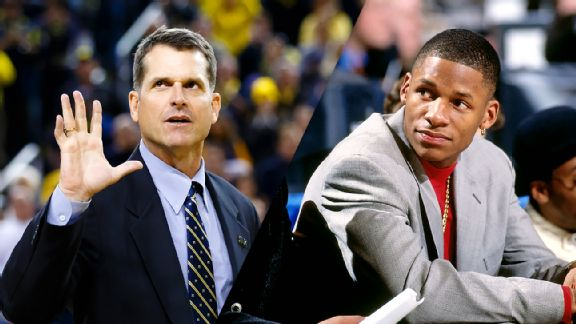 Jim Harbaugh, Ray Allen