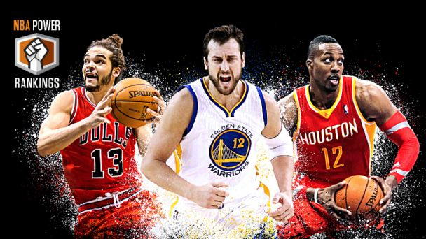 Joakim Noah, Andrew Bogut & Dwight Howard