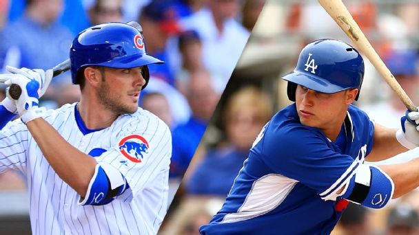 Kris Bryant and Joc Pederson
