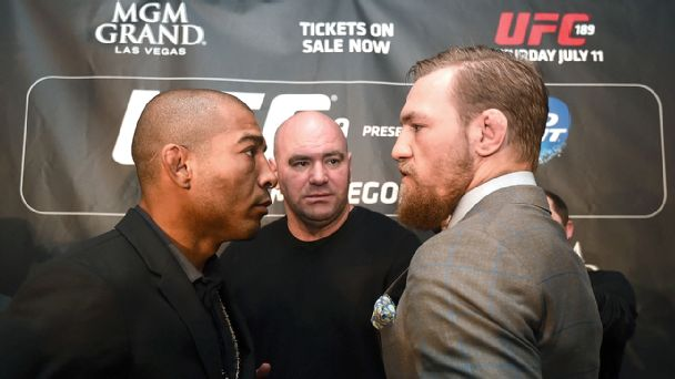 Jose Aldo and Conor McGregor