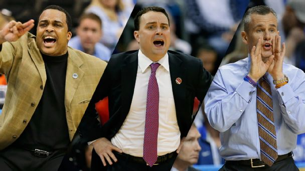 Ron Hunter, Archie Miller and Billy Donovan