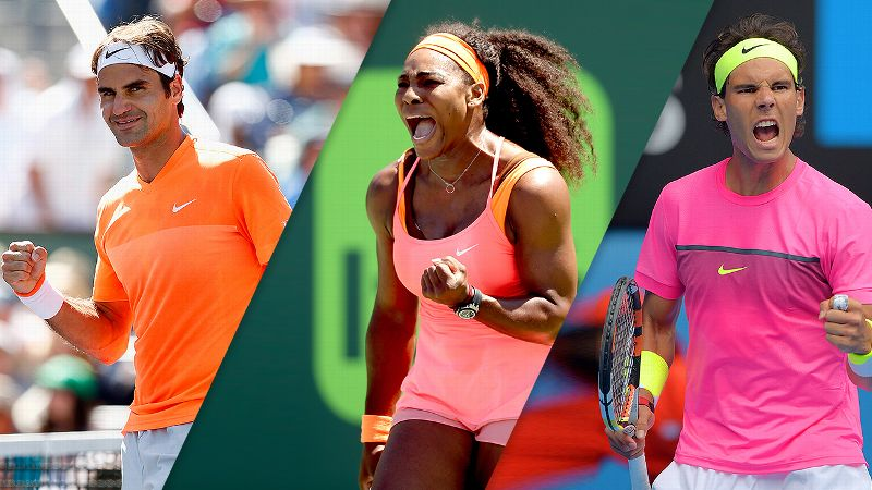 Three Of A Kind: Roger Federer, Serena Williams, Rafael Nadal