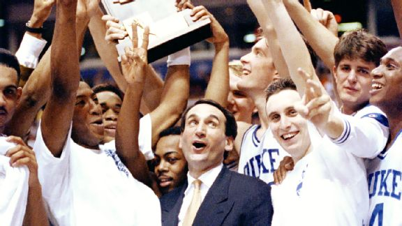 Coach K misses Duke's victory over Wake Forest as a result of a virus