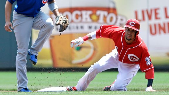 major league baseball starting lineups 2015