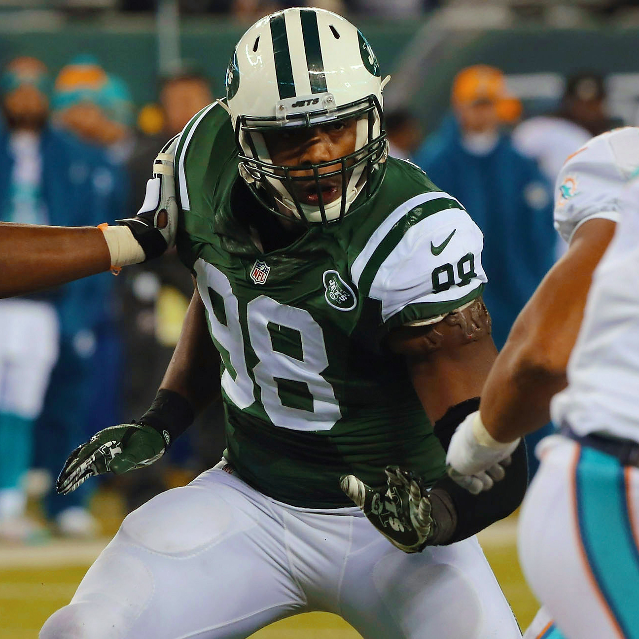 New Dolphins DE Quinton Coples on playing Jets: 'It brings…