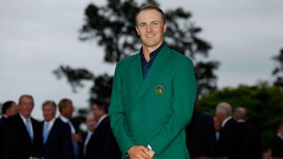 Jordan Spieth, the Masters, Augusta National, PGA Tour