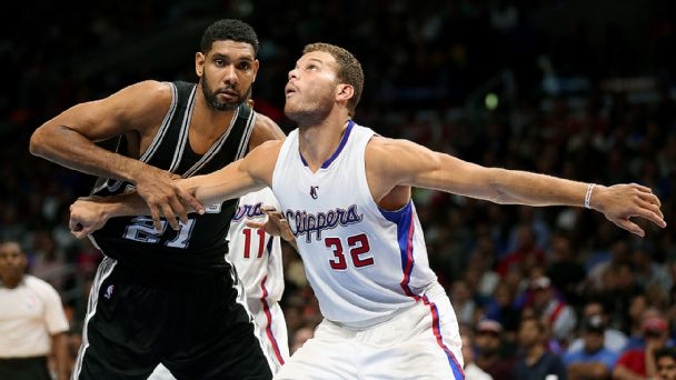 Tim Duncan and Blake Griffin