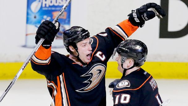 Ryan Getzlaf, Corey Perry
