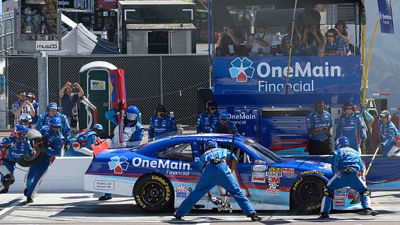 Asa Watson s detoured from NFL tight end to NASCAR pit