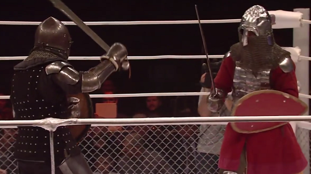 mma, medieval, knights, russia