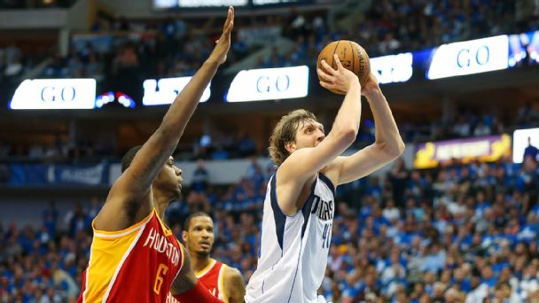 Dirk Nowitzki, Terrence Jones