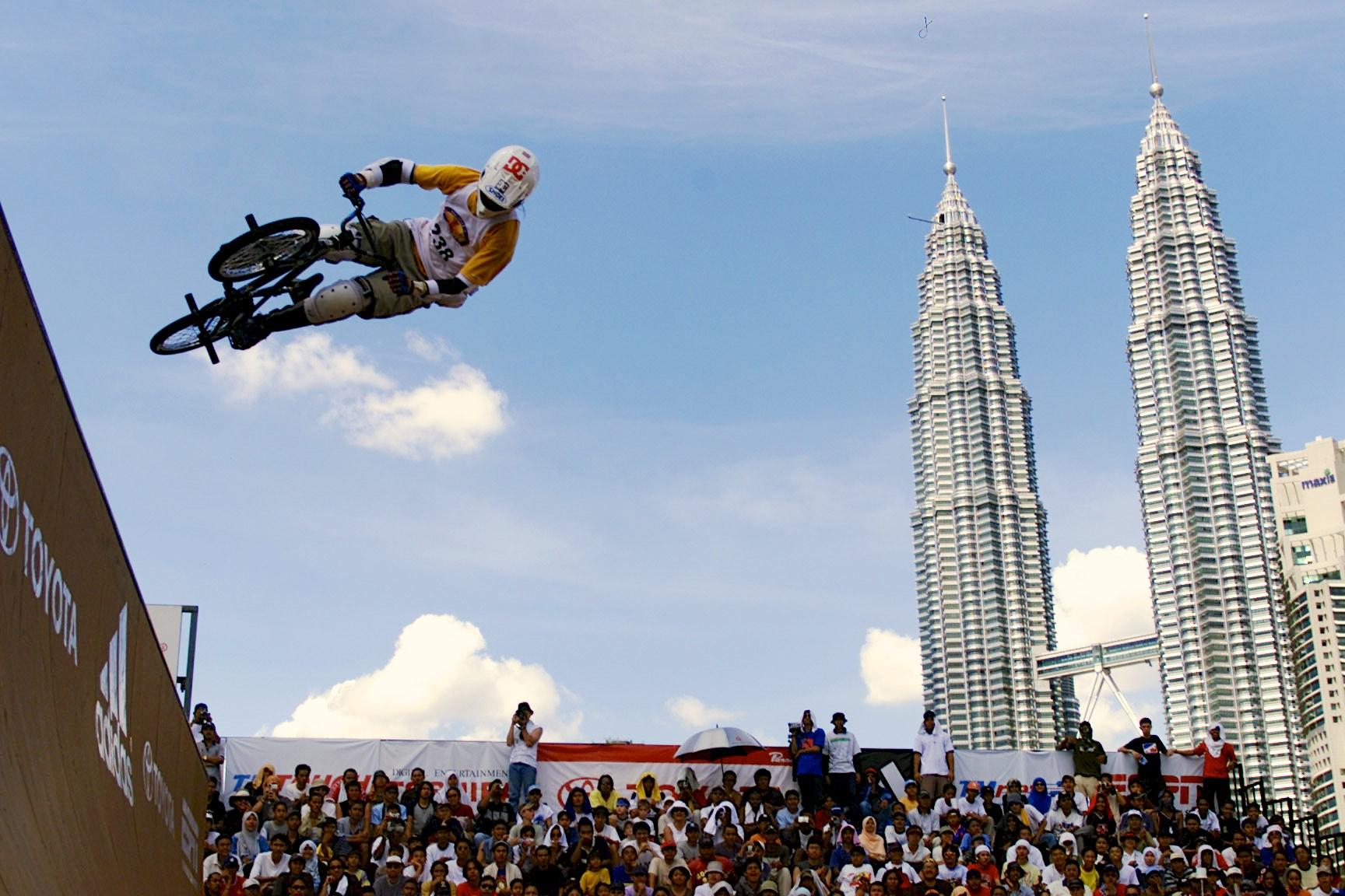 2002: Kuala Lumpur, Malaysia