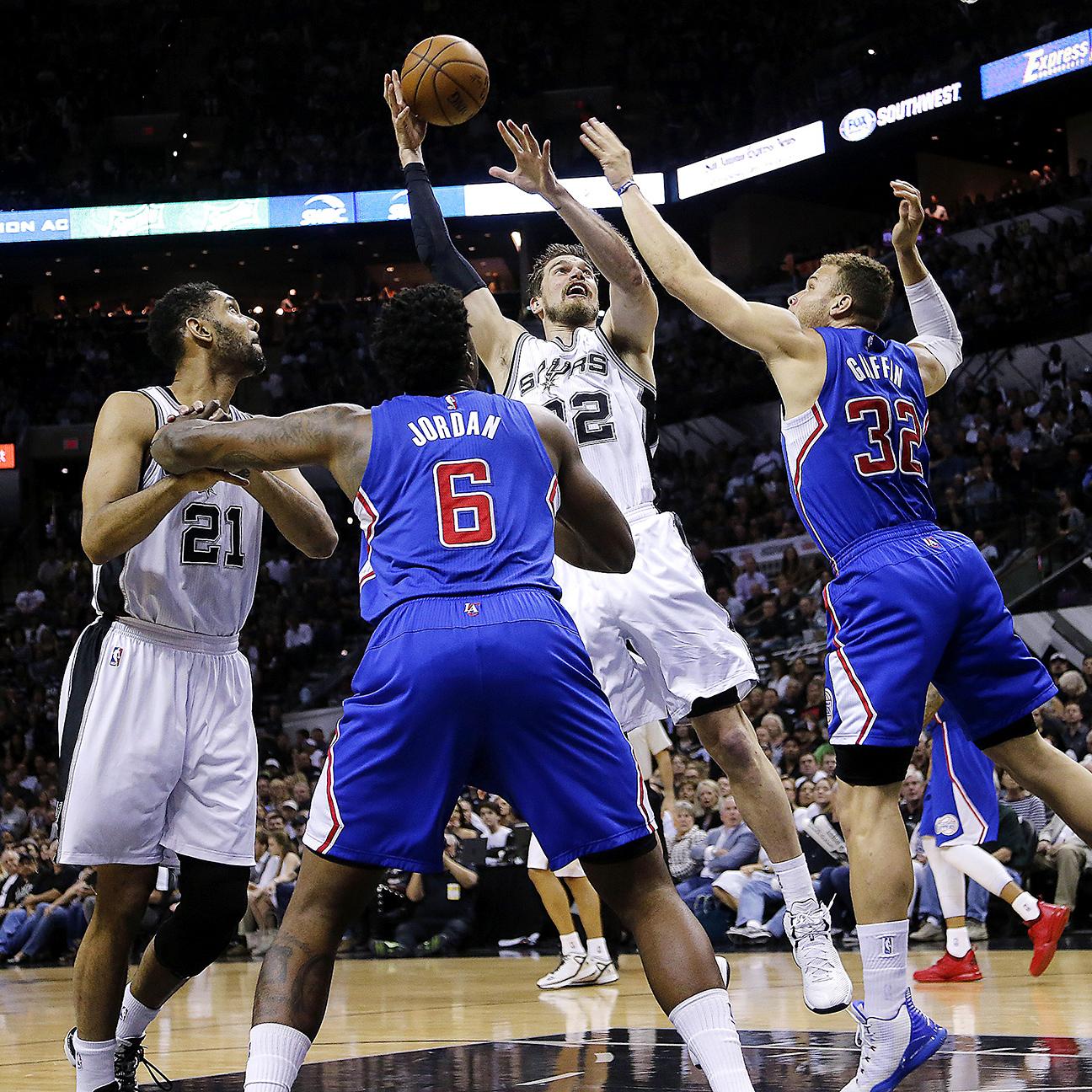 Report: Hawks finalizing trade for Spurs' Splitter