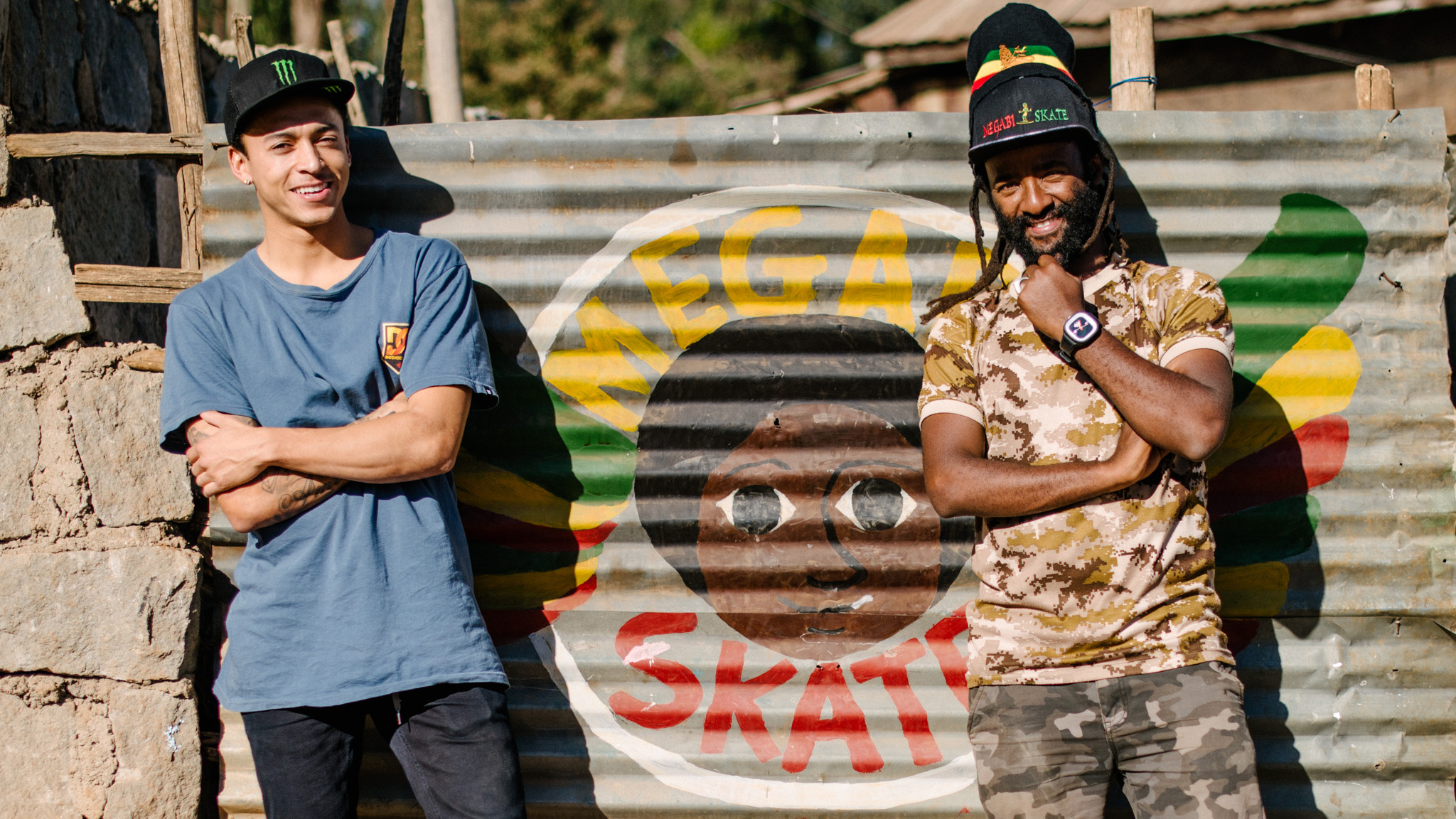 Nyjah Huston travels to Ethiopia for Let It Flow Foundation