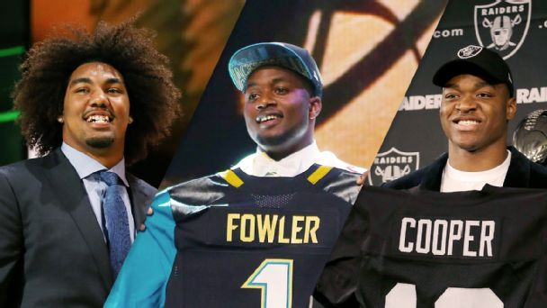 Leonard Williams, Dante Fowler Jr., Amari Cooper