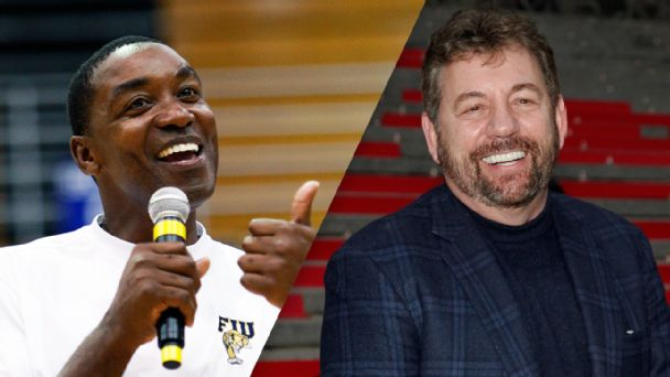 Isiah Thomas, James Dolan