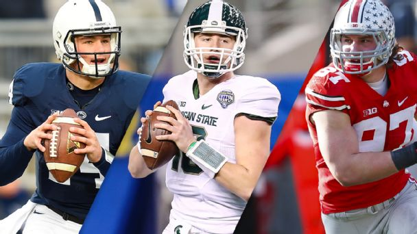 Christian Hackenberg, Connor Cook, Joey Bosa