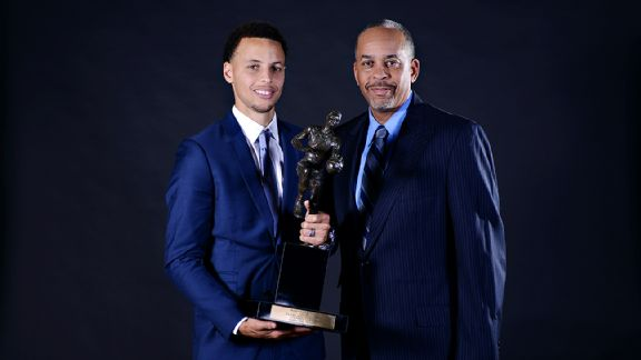 Steph & Dell Curry