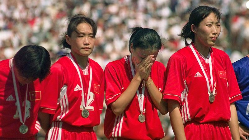 China, Women's World Cup, 1999 Women's World Cup