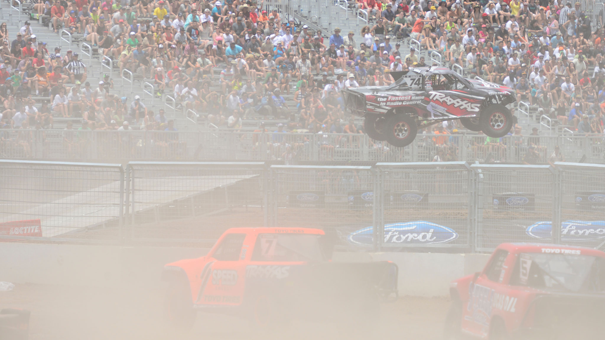 At the debut of Off-Road Truck Racing at X Games Austin 2014, two of the three medalists, and four out of the top five finishers, were teenagers.