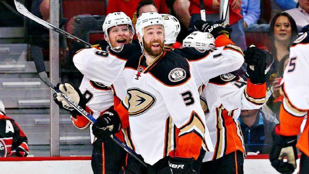 Ducks Celebrate