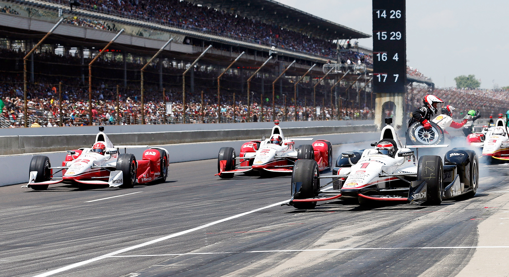 Photo gallery indianapolis 500 for Resumes today indianapolis