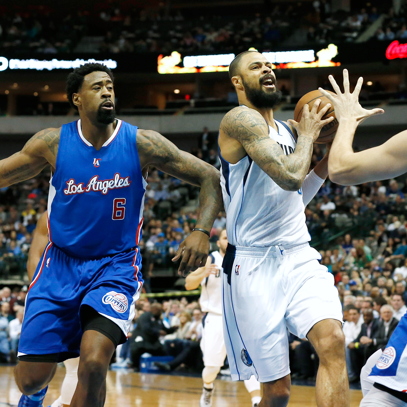 Tyson Chandler on being Mavs' second choice: 'Business is busin…