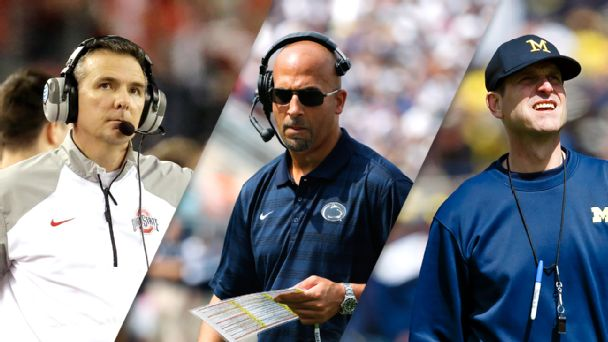 Urban Meyer, James Franklin, Jim Harbaugh