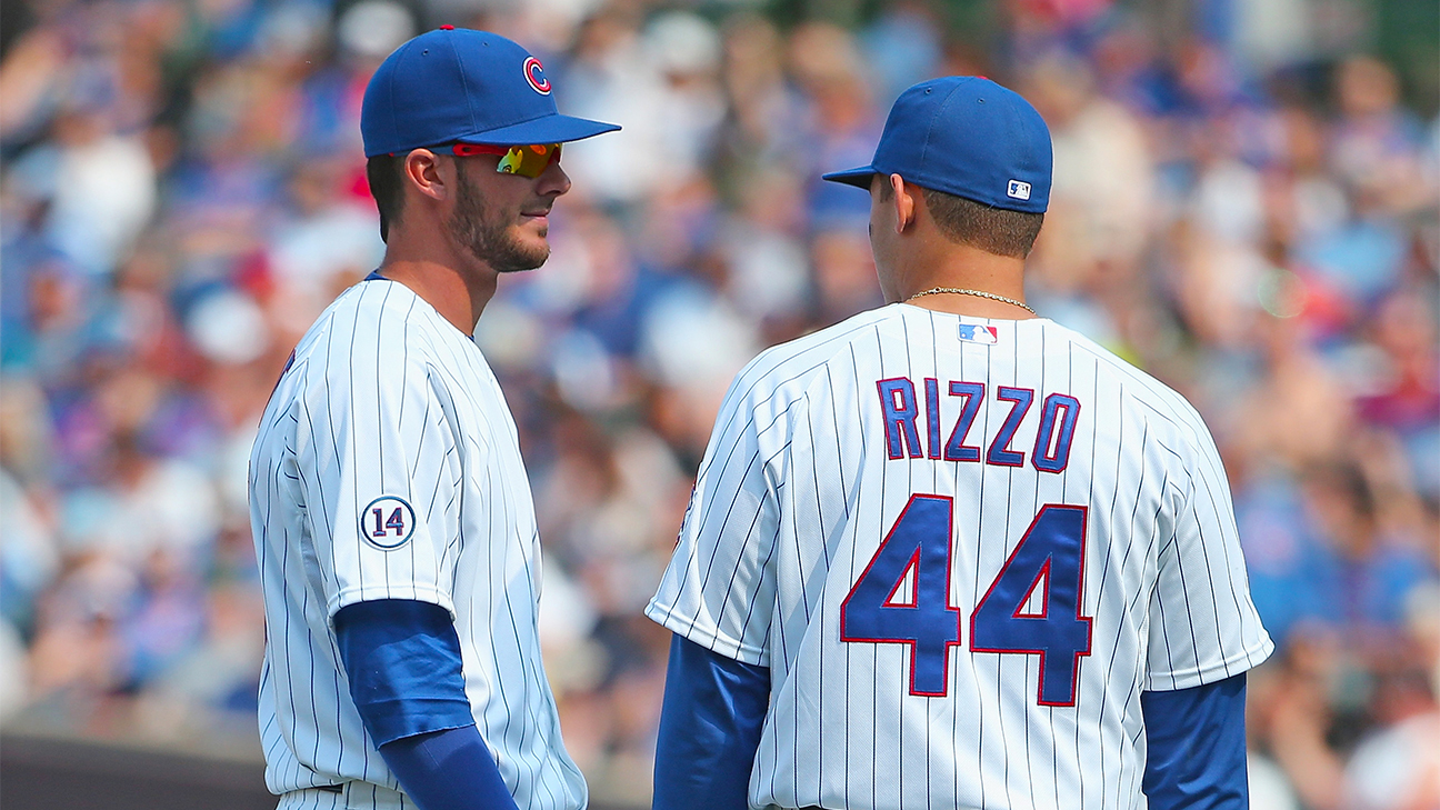 Anthony Rizzo and Kris Bryant a1e774d94fb