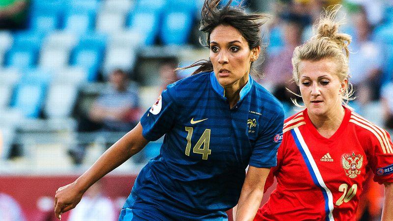 No. 6: Louisa Necib, France, midfielder