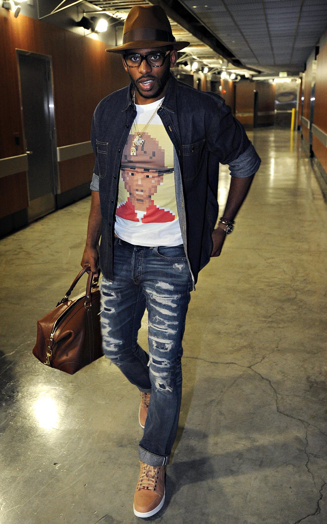 Casting A Paul - 2014-15 NBA Fashion Gallery - ESPN