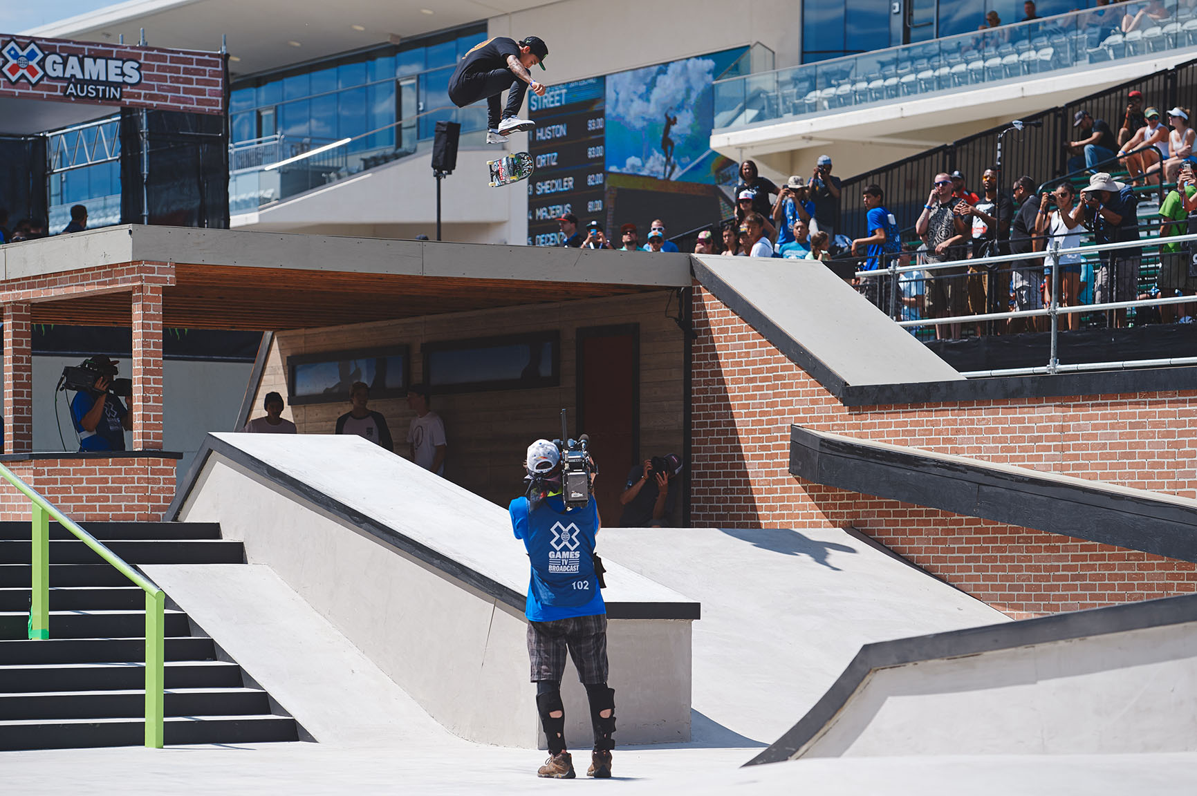 Nyjah Huston lost one contest this year -- to Luan Oliveira at Tampa Pro. Since then, he's swept the Street League podium, and came into X Games the Skateboard Street favorite. Not only did Huston win the contest, he won by an 11-point difference between first and second. Clearly, Huston's reign is far from over.