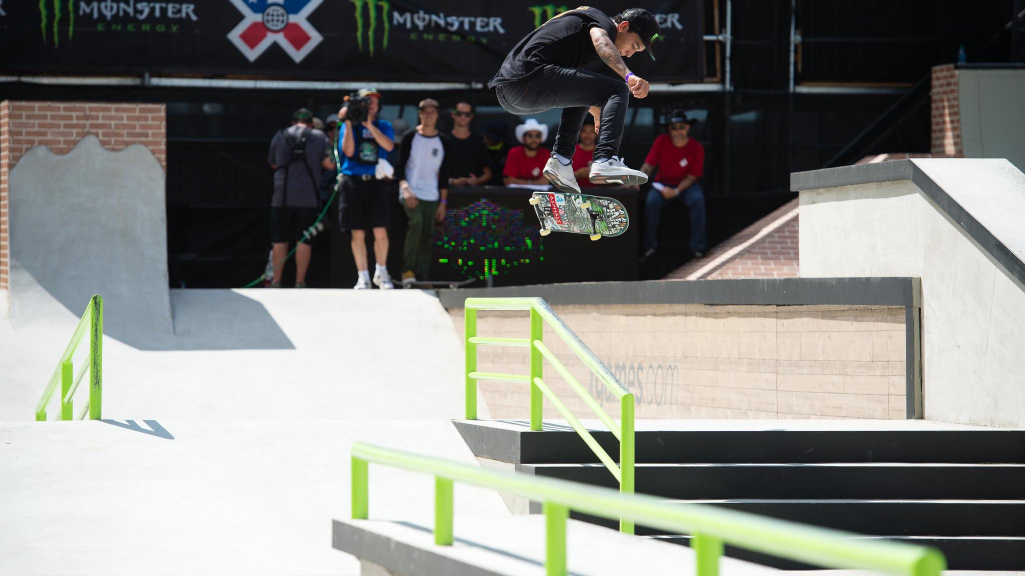 Nyjah Huston wins gold in Men s Skateboard Street e1e99336b08