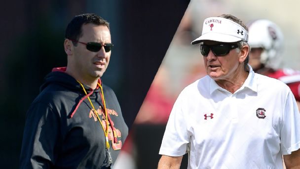 Steve Sarkisian, Steve Spurrier
