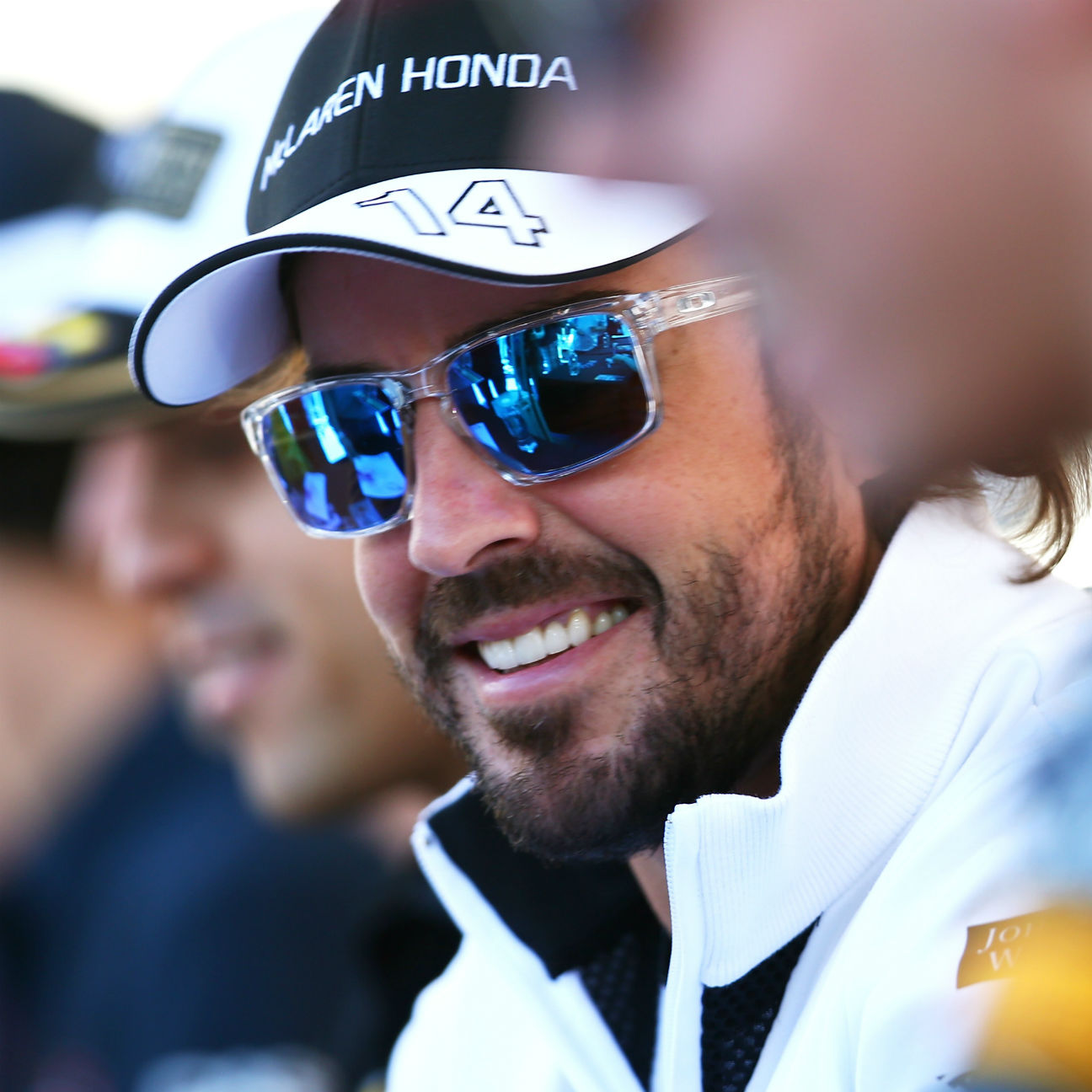 'Double DNF or dominant one-two?' jokes Alonso