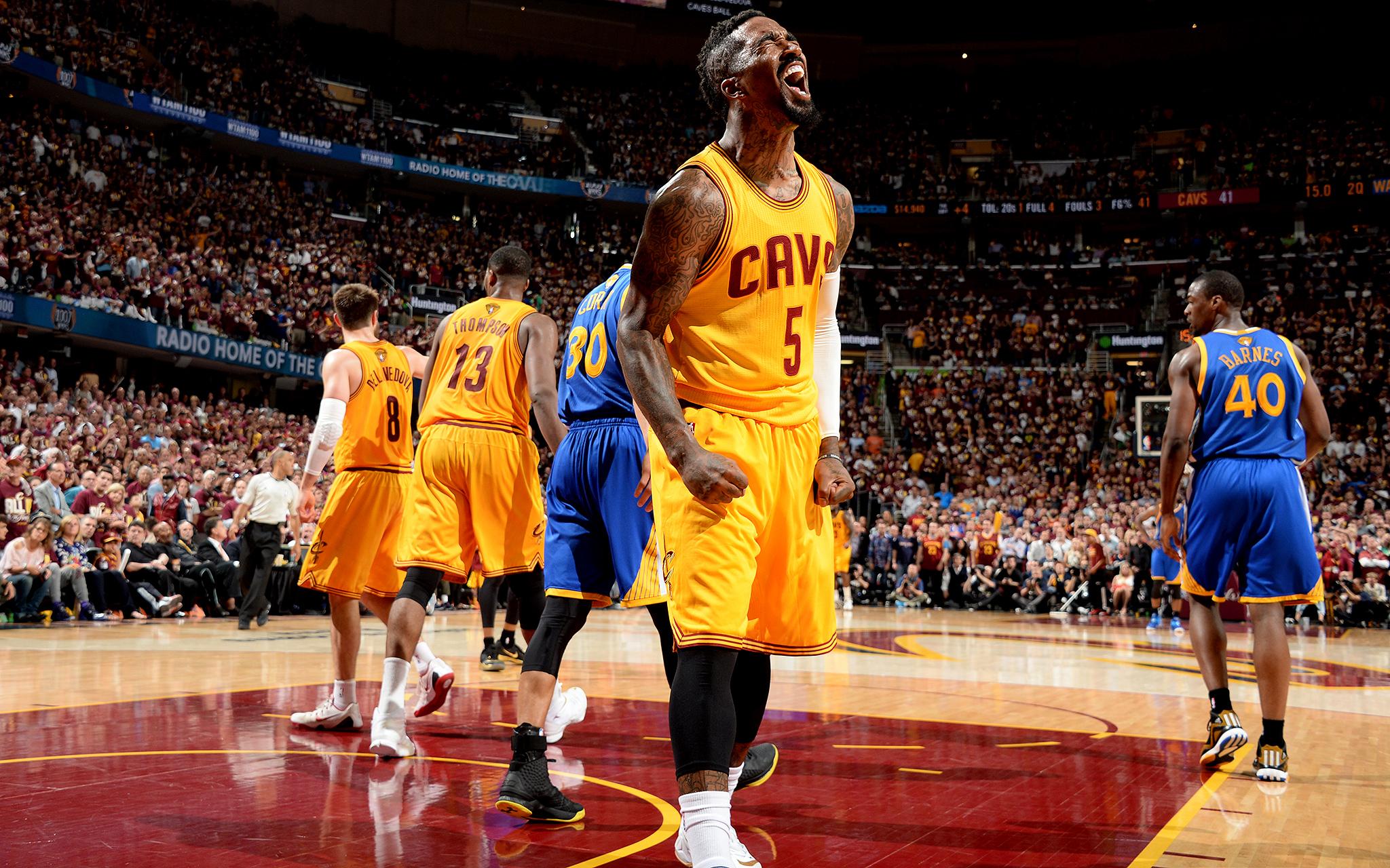 Feelin' it - The NBA Finals - Game 3 - ESPN