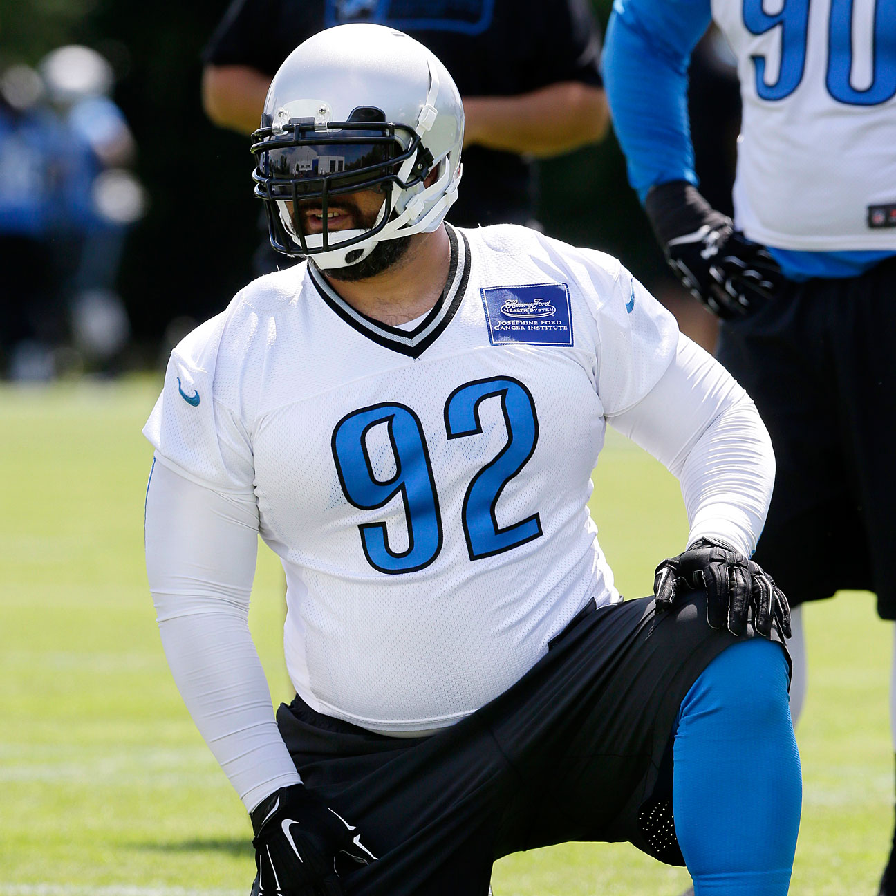 Haloti Ngata hoping to shake off some dust in Detroit Lions ret…