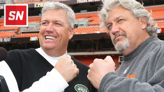 Rex Ryan and Rob Ryan