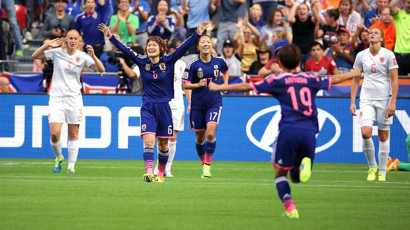 Japan vs. Netherlands
