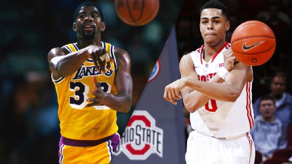 Magic Johnson, D'Angelo Russell