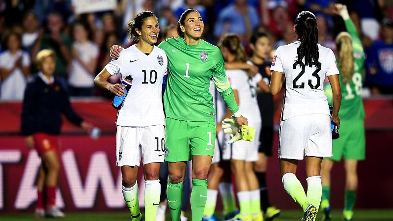 Carli Lloyd, Hope Solo, Women's World Cup