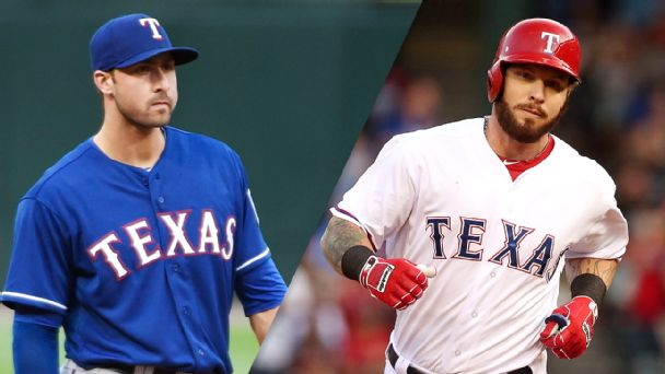 Joey Gallo and Josh Hamilton