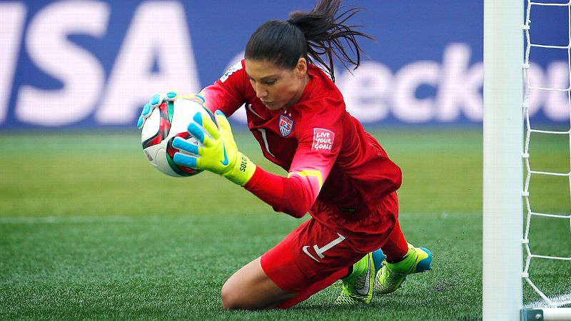 Hope Solo, United States, goalkeeper