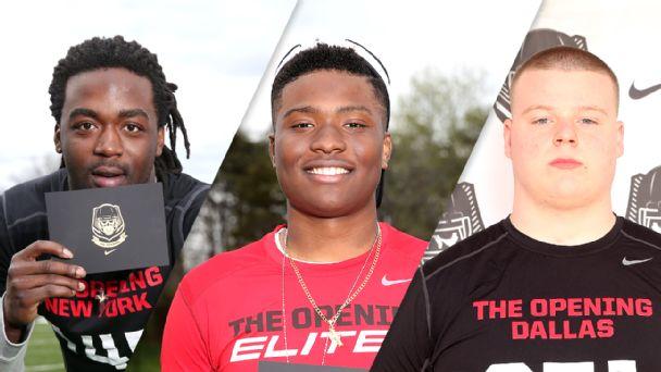 Kareem Walker, Dwayne Haskins, Jack Anderson